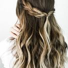 Five Minute Lazy Girl Hairstyles + Easy Tutorials   DIY Darlin'