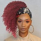 short afro hairstyles headbands