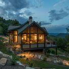 Black Mountain Rustic Modern Farmhouse   ACM Design Architecture & Interiors