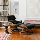 Herman Miller Eames Lounge Chair and Ottoman - Palisander/Black for sale online | eBay