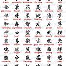 Japanese Kanji Set (instant download) / eps / png /svg