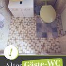 Gäste-WC renovieren – WC Sanierung mit Vinylboden in 5 Schritten - Auch im Bad durchführbar