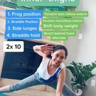 Slimmer and Stronger Thighs Pilates Drill
