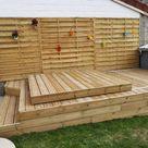 Terrasse pour SPA gonflable, avec couvercle motorisé | Oui Are Makers