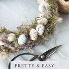 30+ Easy DIY Easter Wreath Ideas to Transform Your Front Door
