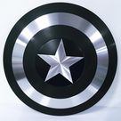 Black Captain America Shield  Metal Prop Replica  1:1 Scale | Etsy