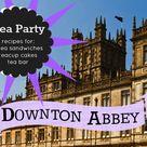 Tea Party Menu