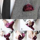 Pocket Square Folds