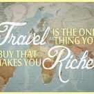 'Travel Makes You Richer' Poster    AllPosters.com