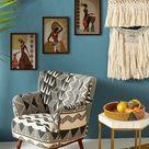 Handmade Wooden Acrylic Painting Wal Hangings Wal Decor   Etsy