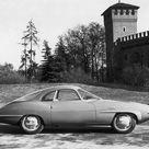 Alfa Romeo Giulietta Sprint Speciale Prototipo Bertone 1957   Энциклопедия концептуальных автомобилей