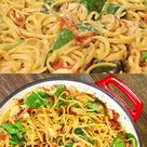 One-Pot Cheesy Italian Pasta and Chicken