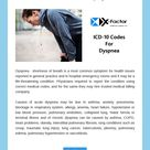 ICD-10 Codes For Dyspnea