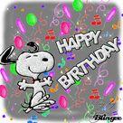 Happy Birthday Funny Snoopy