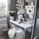 Über 25 kleine Home Office Ideen für Männer und Frauen platzsparendes Layout