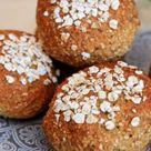 Haferflockenbrötchen ohne Mehl – Schnelles Brötchen Rezept
