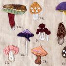 Mushrooms A4 Print