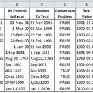 How to Work with Dates Before 1900 in Excel   ExcelUser.com