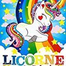 Licornes - Livre de coloriages: Cahier de coloriages pour enfants spécial licornes - 48 pages - format 8,5x11