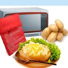 Jacket Potato Microwave Cooker Bag 4 Minutes Express Fast Reusable Washable Cook