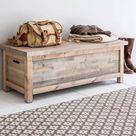 Wooden Bench Box Po January