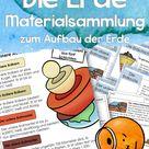 Aufbau der Erde   Unterrichtsmaterial