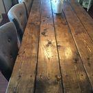 Farmhouse Table Farm Table Long Farmhouse Table Rustic   Etsy