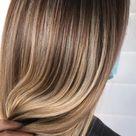 Perfect ash blonde balayage on long hair