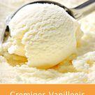 Dieses cremige Vanilleeis ist im Nu zubereitet   ganz ohne Eismaschine. eis vanilleeis eiscreme sommer dessert rezept gutekueche