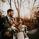 We've Had Heart Eyes Since We Laid Eyes on This Boho Rustic Meadow Hill Farm Wedding and We May Never Be the Same