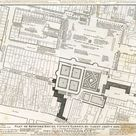 Map of Bedford House & Covent Garden c1690.