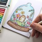 Easy Colored Pencil Hedgehog Art - Studio Katie