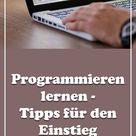 Programmieren lernen   Tipps für den Einstieg