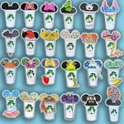 Castle Coffee Cup Pins  (Various Styles)