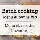 Batch cooking Automne #13 – Mois de Décembre – Semaine 51