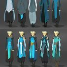 Art of Olivia Margraf-Posta — Costuming for Kender, my Tiefling warlock. I...