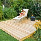 Bauprojekte im Garten