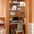 Büro im Eckschrank - Wohnello.de