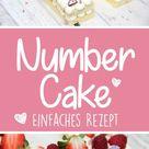 Number Cake / Letter Cake - Rezepte, Anleitung und Druckvorlagen