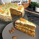 Britische saftige Möhrentorte  (Carrot Cake) 🇬🇧