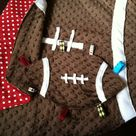 Football Baby Blankets
