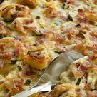 Gebackene Tortellini in Frischkäserahm