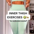 Inner thigh exercises 🥝🐆