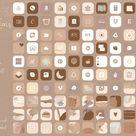 Icon IOS 14 App Iphone - 900 iOS 14 App Icon - iOS 14 icon - Widget iOS 14 Aesthetic iPhone Icon Aesthetic Playful Boho Abstract Terracotta