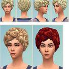 Birkschessimsblog: My Housewife Hairstyle • Sims 4 Downloads
