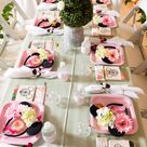 Minnie Mouse Inspired Butterfly Garden Party | Kara's Party Ideas