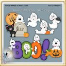 Halloween Clipart, Ghost, Ghoulisly Cute 2015