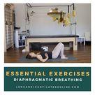 ESSENTIAL EXERCISES: Diaphragmatic Breathing   Long + Lean Pilates Online