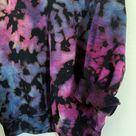 Deep Space tie dye- Tie dye crewneck/hoodie/sweatpants- Tie dye loungewear- Tie dye set