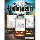 Happy Halloween Malbuch: Halloween Malbuch Fr Kinder -- 40 se Halloween-Motive Zum Ausmalen Fr Jungen Und Mdchen! (3-10) (Paperback)